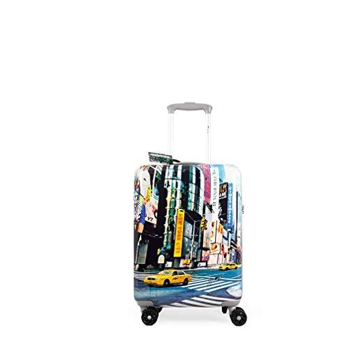 Trolley Rigido Cabina YNOT? New York 4 Ruote TSA - PRC-1001SO mis. cm. 35x55x20
