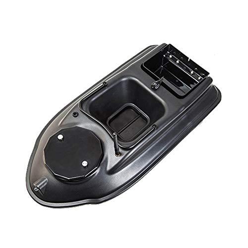 Barco con Control Remoto Impermeable, RC Bait Boat con Motor Doble, GPS Barco Pesca teledirigido Material plástico ABS, Barco cebador Pescado Capacidad Carga 1.8KG, Distancia 500m
