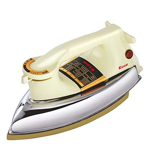 Rico Heavy Weight Japanese Technology 1000 W Automatic Dry Iron (White)