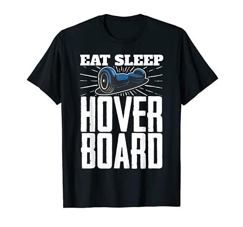 Eat Sleep Hoverboard One Wheel Electirc Skateboard Owner Tシャツ