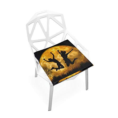 LORONA Joy Cheers Jugend Active Jump Seat Kissen Stuhlkissen Memory Foam Pads für gesundes Sitzen zu Hause, Büro, Küche, Rollstuhl, Essen, Patio, Camping | Quadrat 16 'x 16'