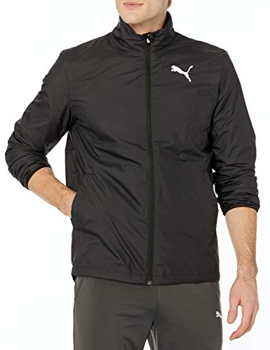 PUMA Jacket Deportiva (Chaqueta Activa), Negro, S para Hombre