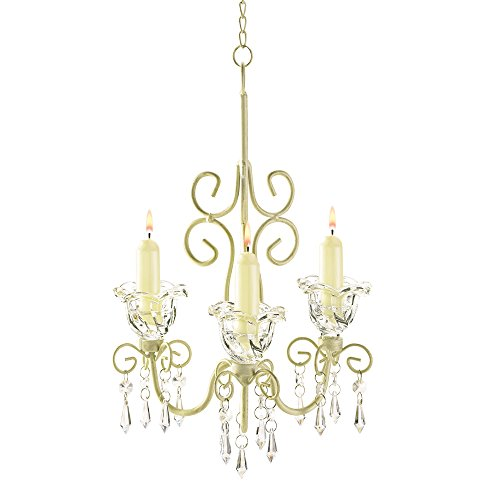 Koehler Indoor Home Decorative Shabby Chic Scroll Candelier