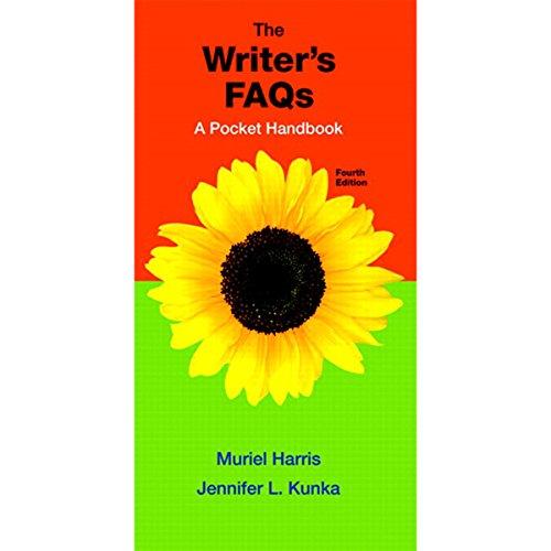 VangoNotes for The Writer's FAQs, 4/e cover art
