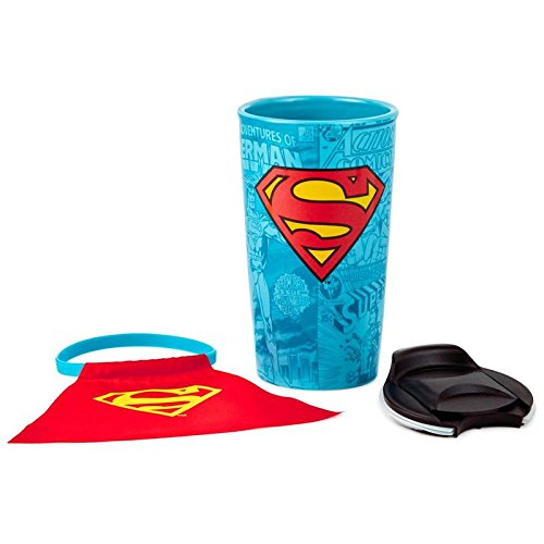 Hallmark SUPERMAN Travel Mug With Cape