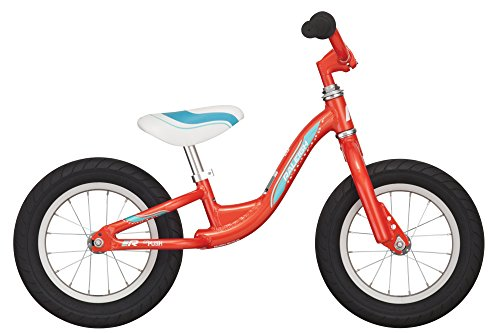 Raleigh Bikes Girls Raleigh Lil Push Balance Bike, Red