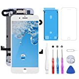YPLANG for iPhone 7 Screen Replacement White & Original LCD Display 4.7 inch & Touch Screen Digitizer Replacement Frame Assembly with pantalla iPhone Repair Tool Kits