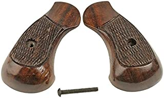 Numrich Armscor Rock Island Armory 206 Grips (Checkered Wood)