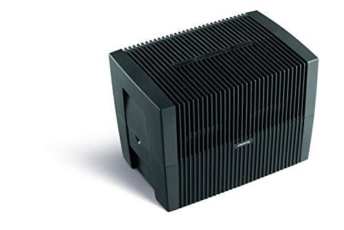 Venta Luftwäscher Original LW45, Luftbefeuchtung und Luftreinigung (bis 10 µm Partikel) für Räume bis 55 qm, Anthrazit-Metallic