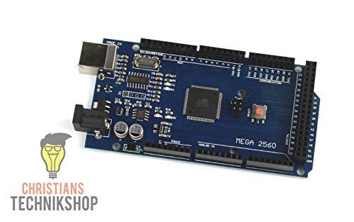 MEGA 2560 R3   Entwicklerboard für Arduino IDE   ATMEL ATmega2560 AVR Mikrocontroller   CH340-Chip   Christians Technikshop