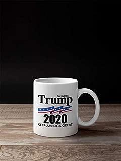 Trump 2020 Keep America Great Coffee Mug | MAGA 11 Ounce Coffee Mug | CM1068
