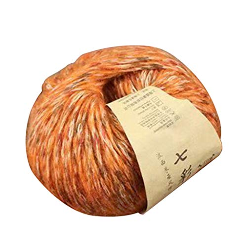 VIccoo 3 Rolls 50g Handgeweven Alpaca Kleurrijke Zachte Haak Baby Warm DIY Breien Wol Garen voor Sjaal Jas - 14