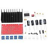 Módulo electrónico 4 canales Amplificador de Potencia Kit admite la entrada de sonido envolvente estéreo Equipo electrónico de alta precisión