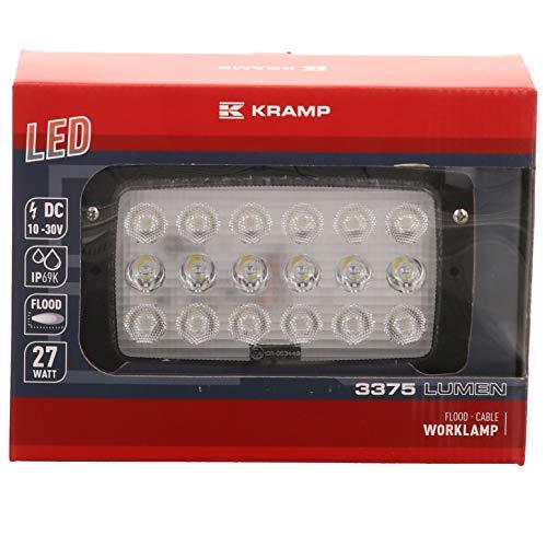 LED-Arbeitsscheinwerfer 3375 Lumen, 27W, passend für Fendt und Claas, 1GB006213, G294900110010