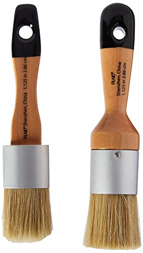 FolkArt Home Decor Chalk and Wax Brushes,