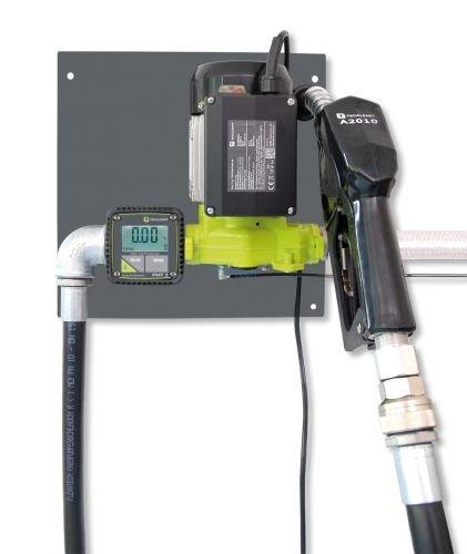 Elektropumpe TecPump 600AC 55l/min 230V im System mit digitalem Zählwerk FMT 3 - Dieselpumpe