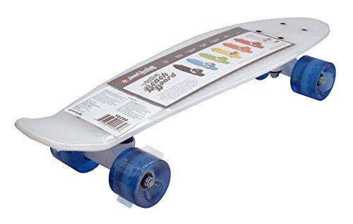 Streetsurfing Street Surfing Skateboard Beach Board-Milky Blue, 56 cm