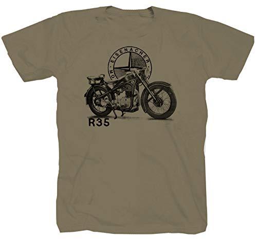 EMW Motorrad braun T-Shirt (XL)