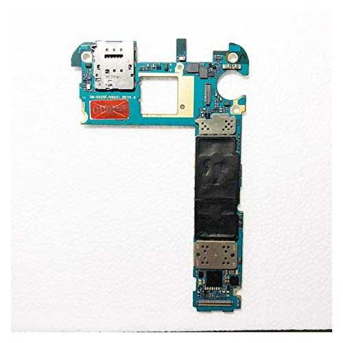 Reemplazo De Placa Base, 100% Desbloqueado 64 GB Abierta Original En Forma Fit For El Samsung Galaxy S6 Edge G925F Placa Base, Europa Versión S6 G925F Mainboard Reemplazar Placa Base