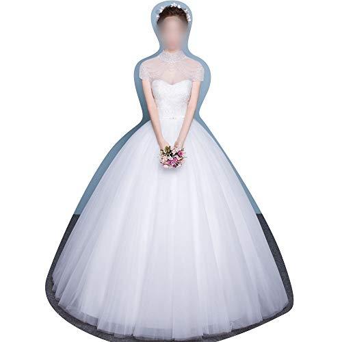 Rocke Mit schlanken Kragen im Winter Brautkleider Neue chinesische Brautkleider (Size : XL)
