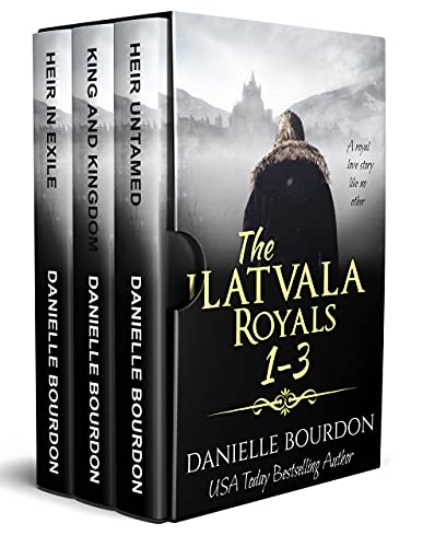 The Latvala Royals Box Set vol1: Books 1-3 by [Danielle Bourdon]