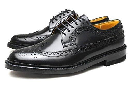 [リーガル] メンズ 靴 ウィングチップ ビジネスシューズ 2E 2589N ブラック 25.0cm