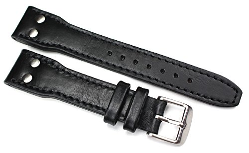 Cinturino in pelle da 20 mm, nastro adesivo ad alta resistenza, in vera...
