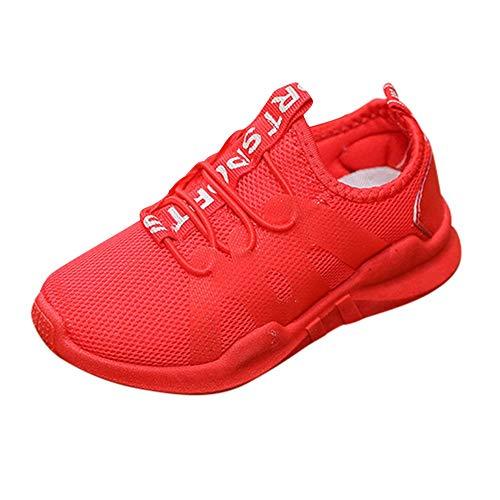 Chaussures de Bébé Manadlian Enfant Garçon Fille Semelles Douces de Sneaker Baskets Mixte Enfant Mesh Baskets