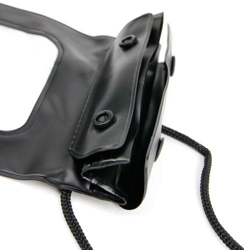 DURAGADGET Funda Impermeable Negra Compatible con Smartphone Vivo NEX 3 5G, Vivo NEX 3 - Ideal para Proteger Su Dispositivo del Agua Y La Arena
