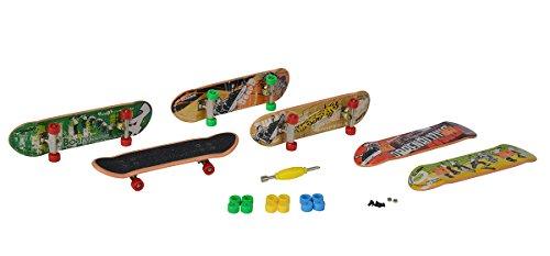 Simba 103302164 - Finger Skateboard Mega Set, Verschiedene Spielwaren