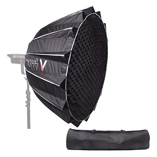 Aputure Light Dome II ソフトボックスディフューザーライトストーム折りたたみ Aputure 120 D II 300 D II 対応 LEDビデオライ 写真撮影 肖像画 に適用 (深さ24インチ)