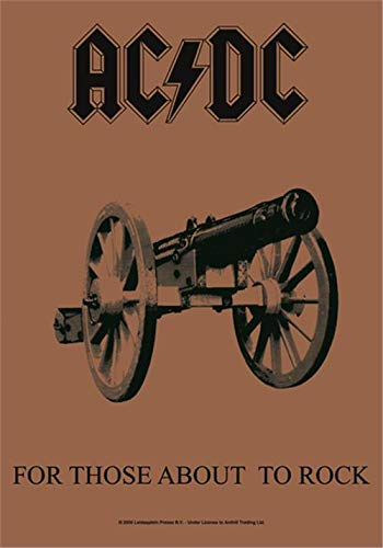 AC/DC,For Those About To Rock, Fahne