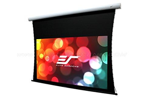 "Elite Screens CineTension B Series, 96"" Diagonal 16:9, Tab-Tensioned Electric Drop Down Front Projector Screen, TE96HW2B-E24"