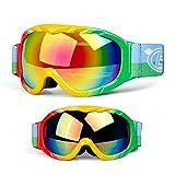 Die besten Skibrilles - Qnlly Skibrille - Snowboardbrille Ski für Herren, Damen Bewertungen