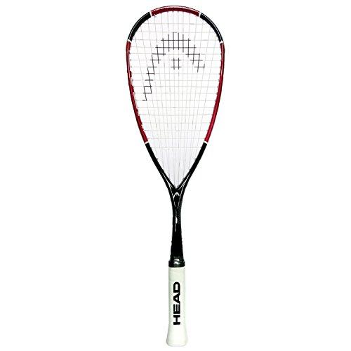 Raqueta de squash HEAD Nano Ti 110 , color rojo, tamaño Single Racket
