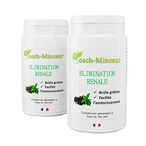 THE VERT   Elimination Rénale   Détox   Bruleur de Graisse   Perte de Poids   Minceur Efficace   180 Gélules   Livret Minceur Offert