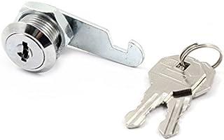 eDealMax metal del cajón Buzón Puerta de gabinete de herraje para muebles de claves de seguridad