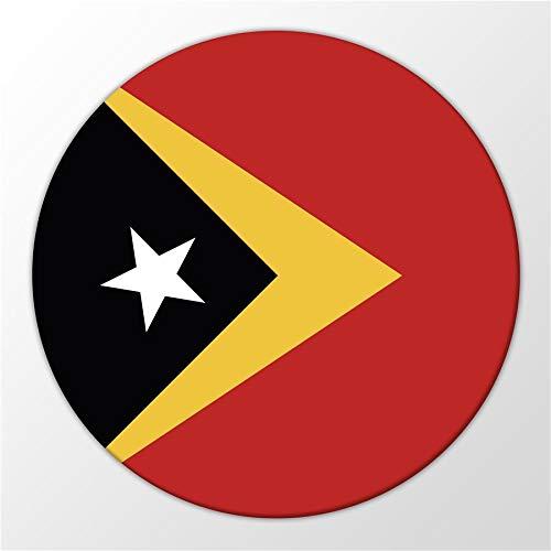 Kühlschrank Magnet East Timor Osttimor Flagge Asien Flag Magnettafel Whiteboard