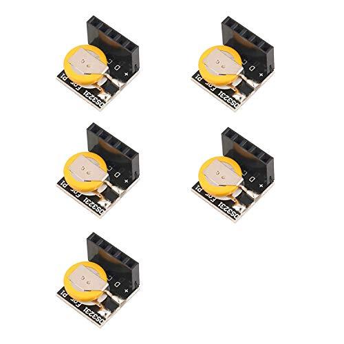 DollaTek 5PCS DS3231 Precision RTC Módulo de Memoria para Arduino para Raspberry Pi