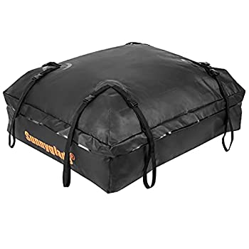 Sunnyglade Waterproof Roof Top Cargo Bag 15 Cubic Feet The Car Top Carrier Bag Fits All Roof Racks