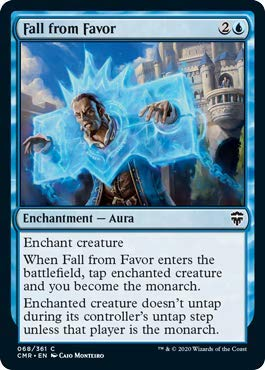 Magic: The Gathering - Fall from Favor - Foil - Commander Legends
