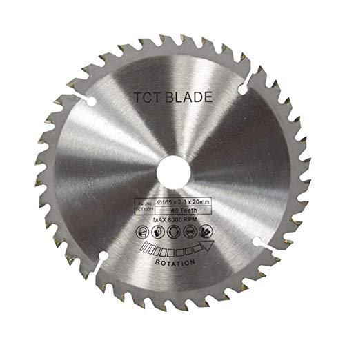 Dgaddcd TCT Hoja de Sierra Circular, Corte de Madera/Plástico/Metal, Herramientas Multifuncionales de Corte para Aglomerado de Engranajes de Works