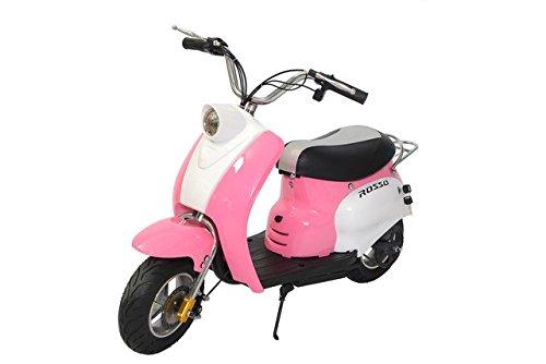 Rosso Motors Kids Swift Pink Moped...