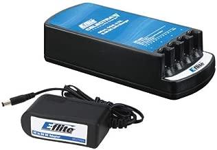 E-Flite Celectra 4-Port 1-Cell 3.7V Li-Po Battery Charger w/AC