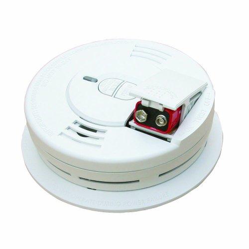 Kidde 0976 - 2 front load battery-operated ionization sensor smoke alarm, 2-pack