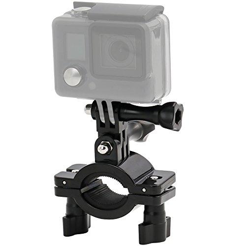 EXSHOW Kamera Halterung Fahrrad or Motorrad für Gopro - Action Camera Fahrradhalterung für Gopro Hero 9 8 7 6 5 4 3+ 3 2 Canon, Sony und andere Kameras