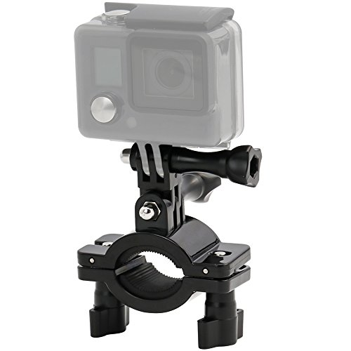 Bike Mount for GoPro, EXSHOW Motorcycle Motorcycle Moto Mount for GoPro Hero 9 8 7 6 5 4 and other Action Camera, Compatible with Bike Handlebar and any round pipe dia from 20-35mm