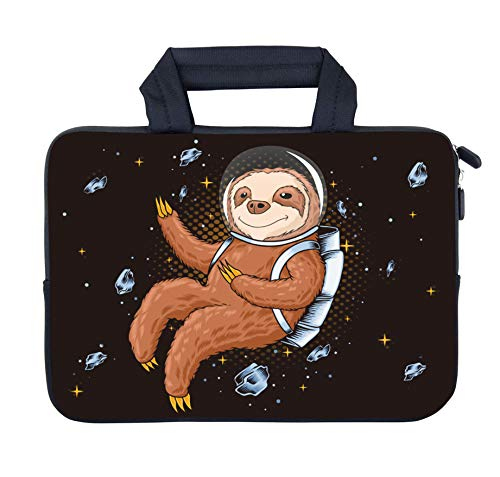 AMARY Chromebook Case 11.6' 12' 12.1' 12.5 inch Laptop Handle Bag Neoprene Notebook Carrying Pouch Ultrabook Case Tablet Cover Fit Apple MacBook Air HP DELL Lenovo Asus Samsung (Sloth)