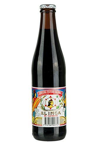Dunkles bolivianisches Bier, Flasche 350ml - Bi-Cervecina EL INCA 3% vol.