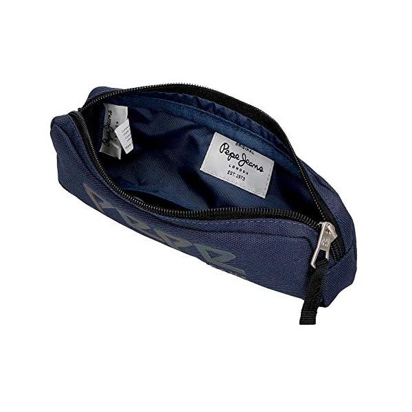 Pepe Jeans Osset Estuche Azul 22x7x3 cms Poliéster